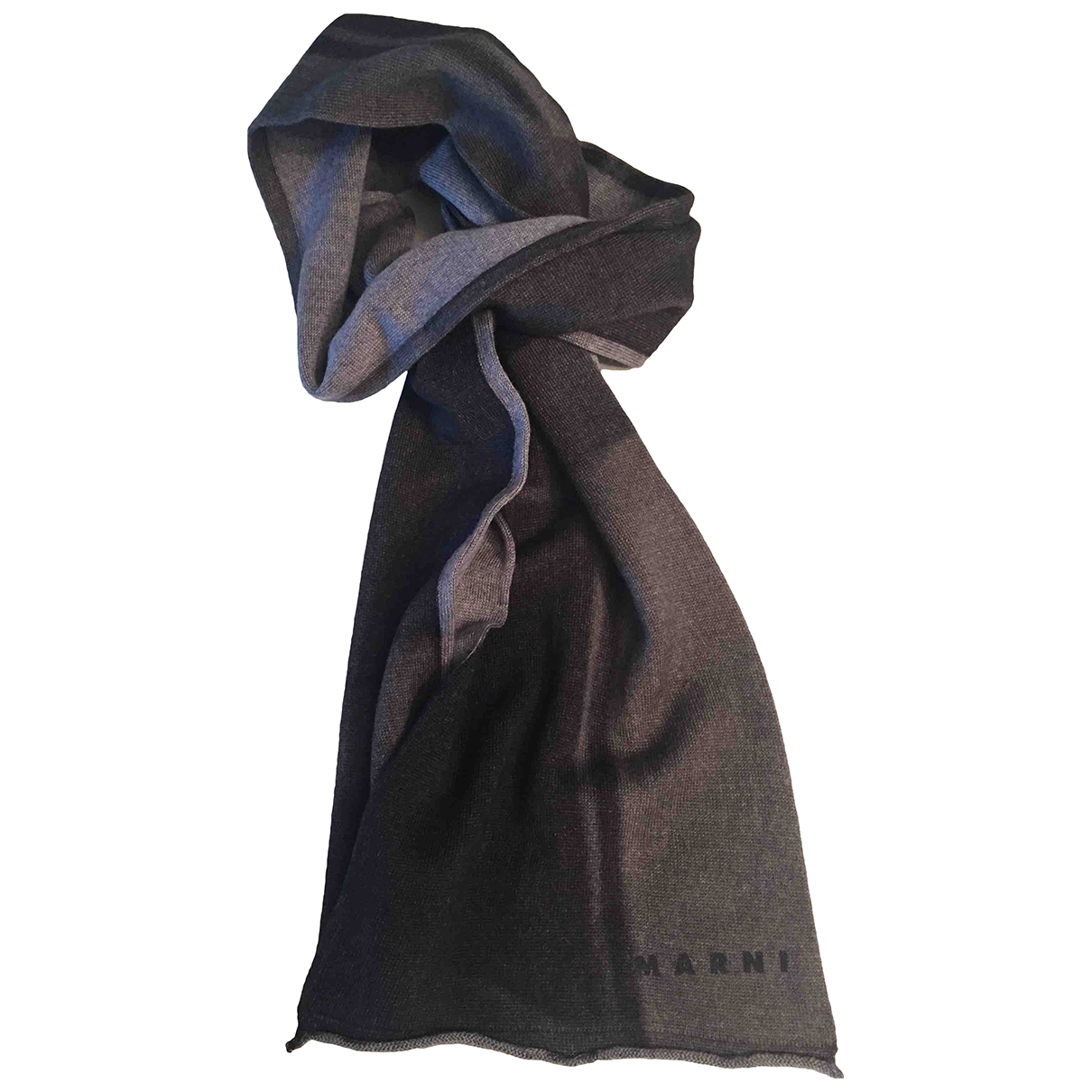 Marni \N Grey Wool scarf for Women \N