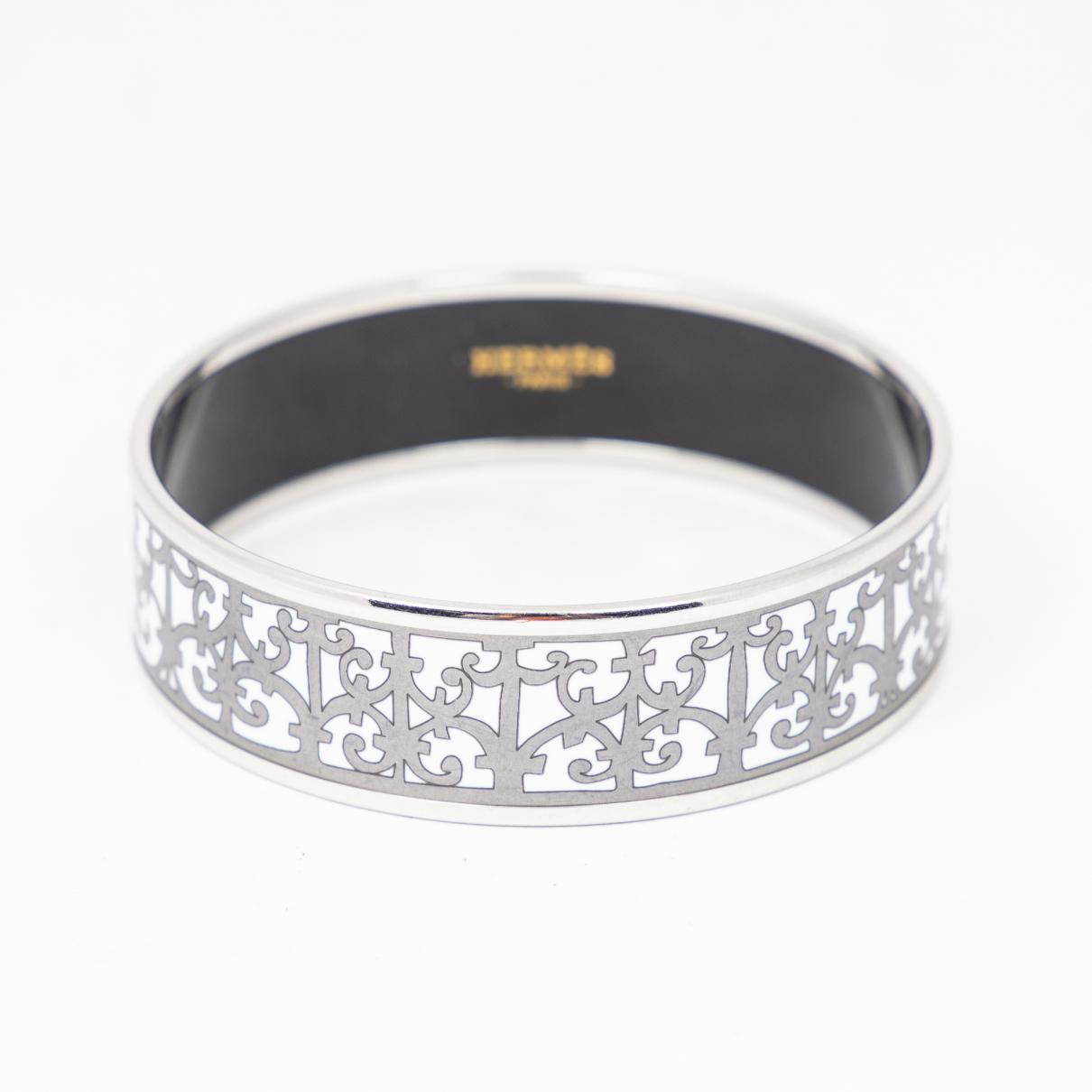 Hermes - Bracelet   pour femme en argent - argente