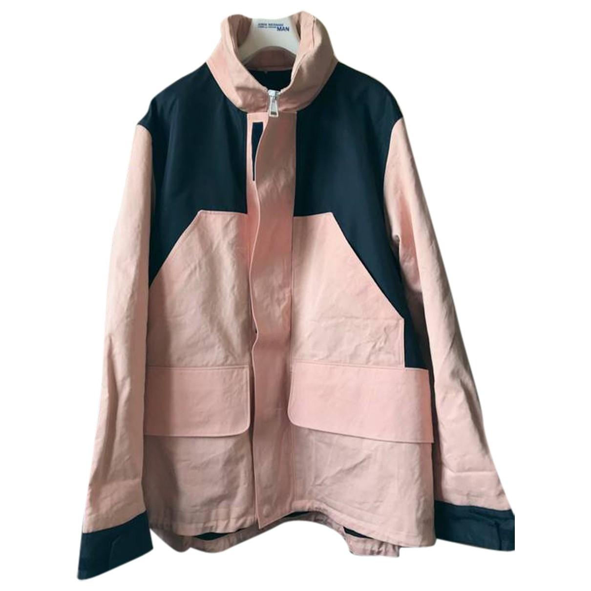 Acne Studios \N Pink Cotton jacket  for Men 52 IT
