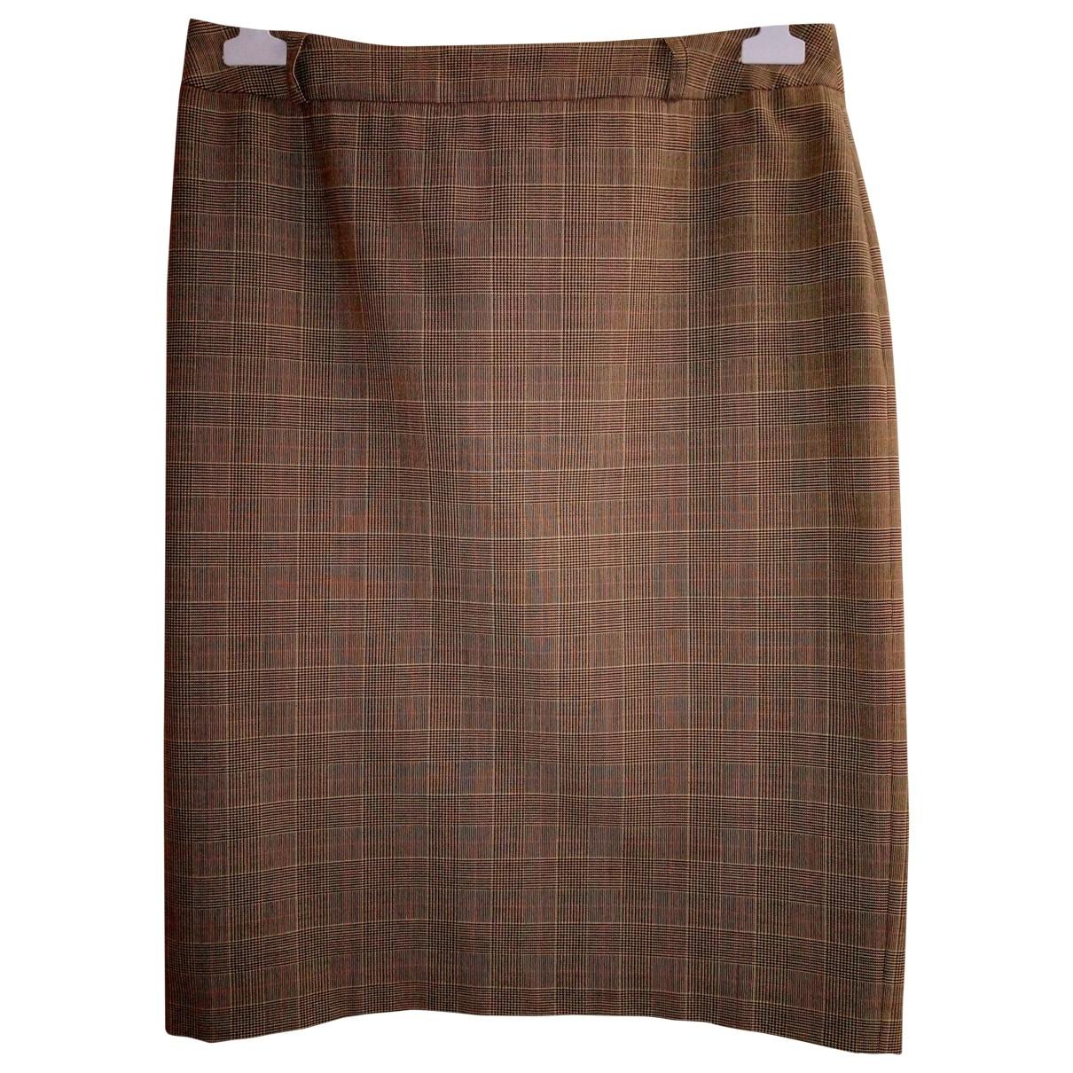 Cyrillus - Jupe   pour femme en coton - marron