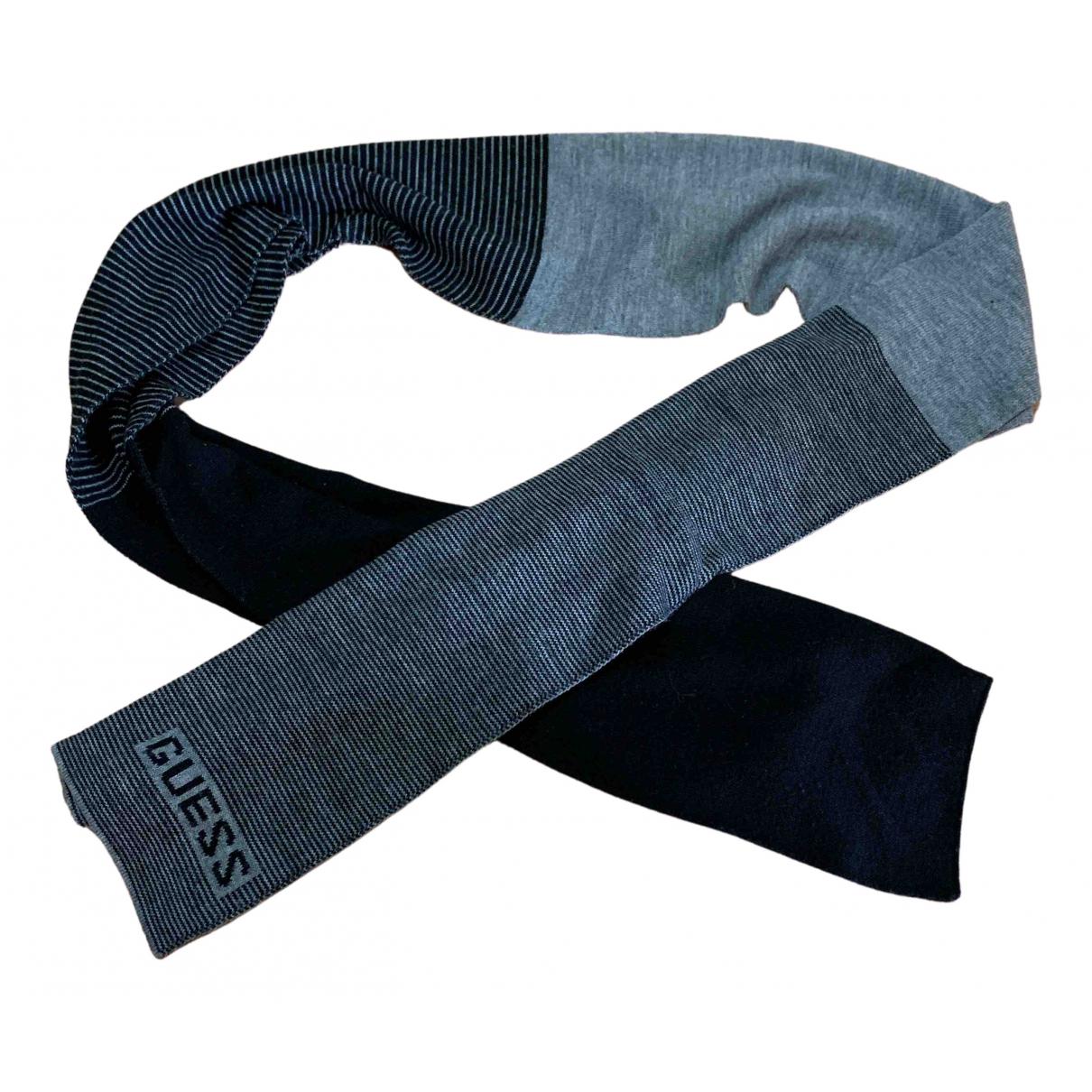 Guess N Grey Wool scarf for Women N