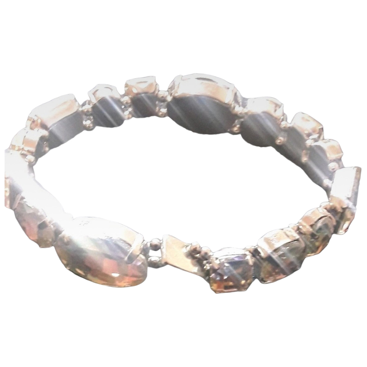 Non Signe / Unsigned \N Armband in  Bunt Kristall