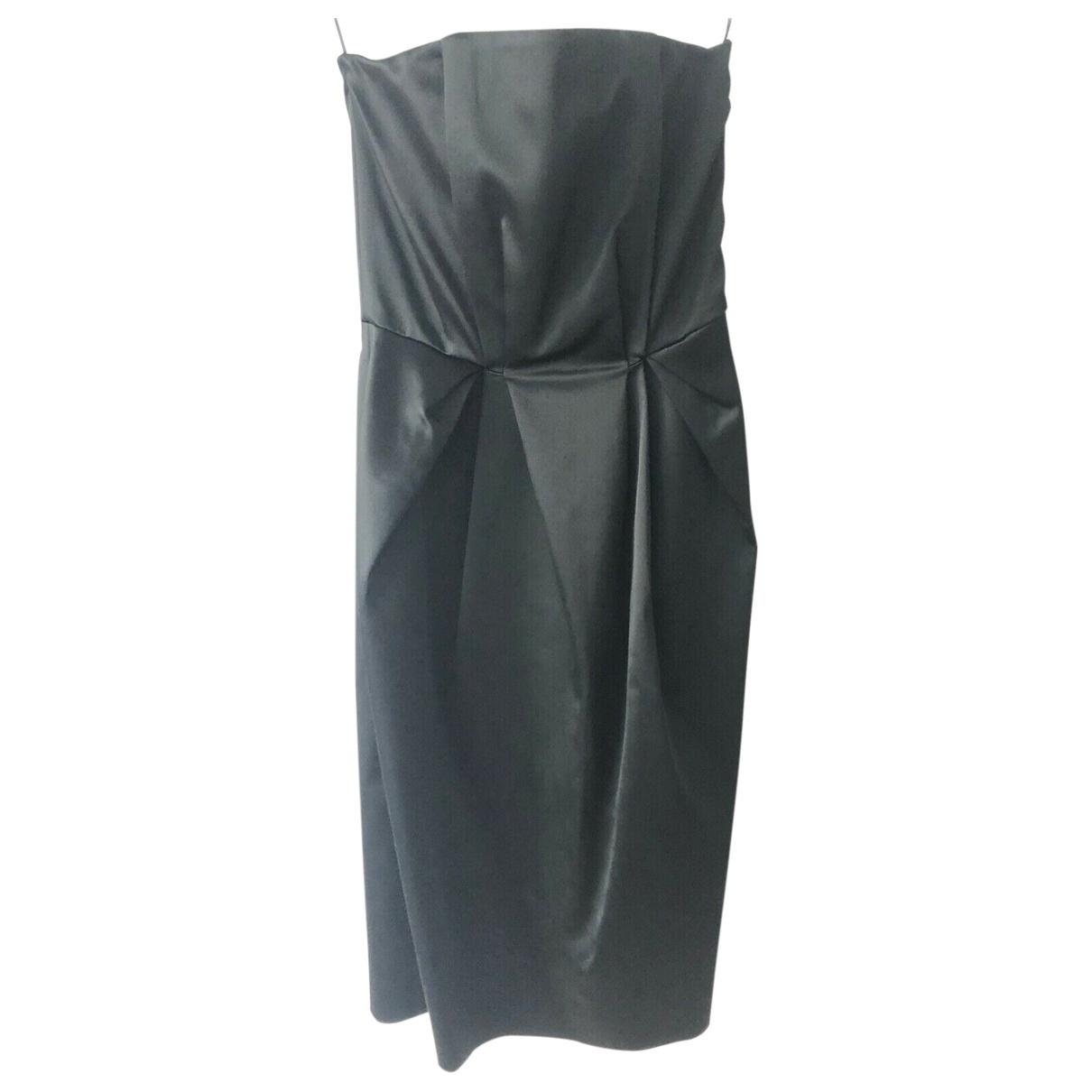 Philosophy Di Alberta Ferretti \N Kleid in  Schwarz Polyester