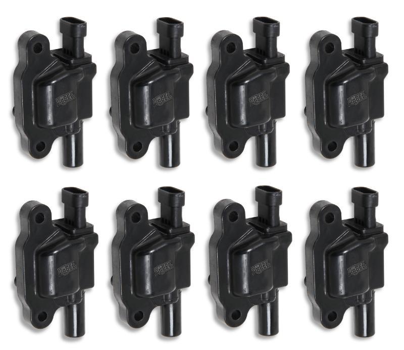 ACCEL COIL,GM LS2 LS3 LS7 8-PACK- BLACK