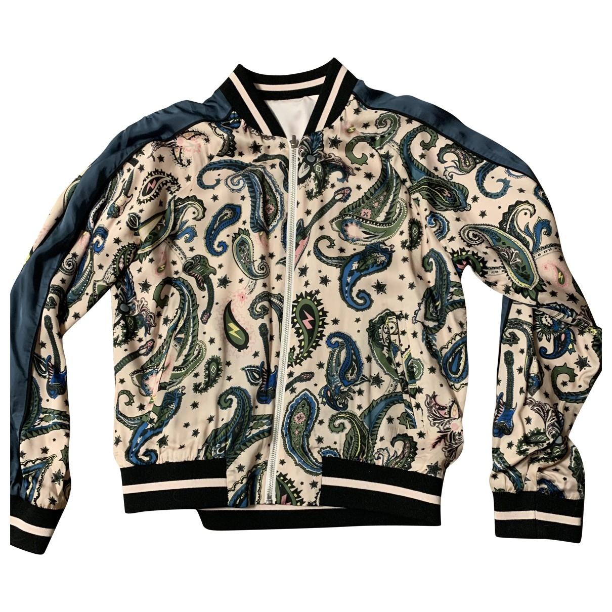 Zadig & Voltaire \N Pink Silk jacket for Women 36 FR