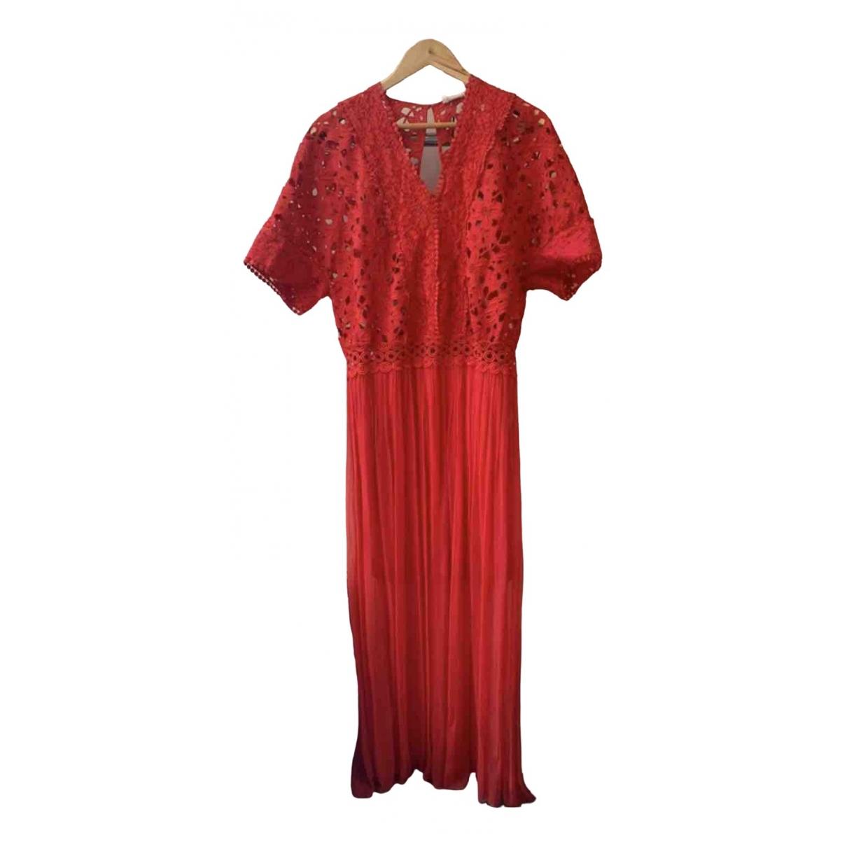 Bel Air \N Kleid in  Rot Spitze