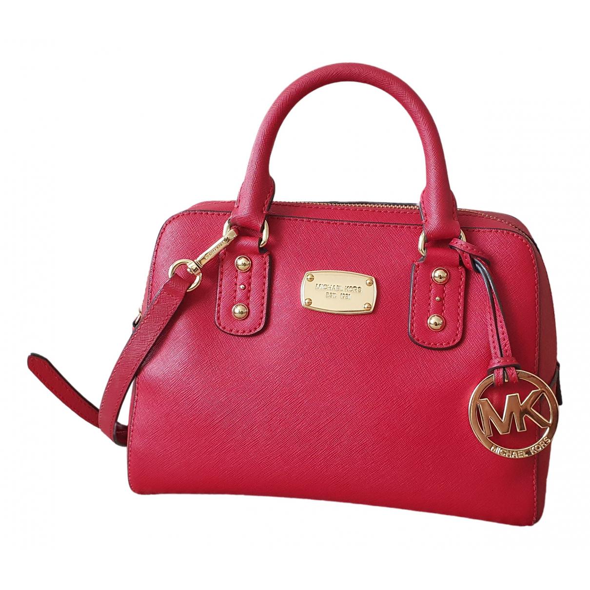 Michael Kors N Red Leather handbag for Women N