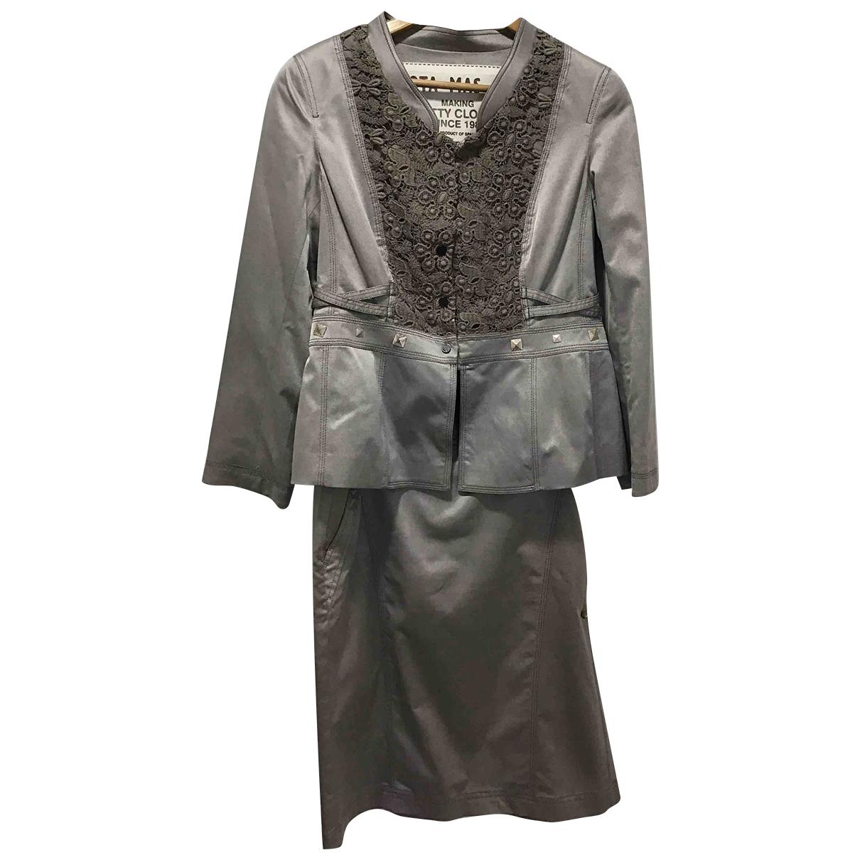 - Veste Hippie Chic pour femme en coton - gris