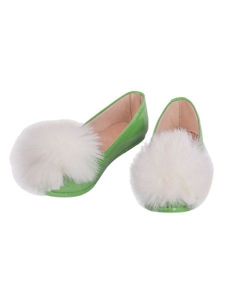 Milanoo Disney Tinker Bell Shoes Disfraz de Cosplay Halloween