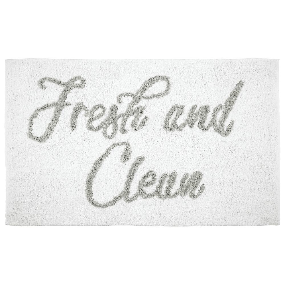 Cotton Extra Plush Luxury Fresh and Clean Bath Mat Rug,  in Gray, 34