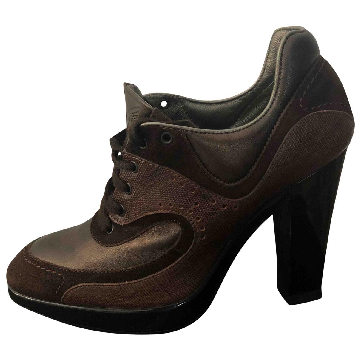 Hogan - Escarpins   pour femme en cuir