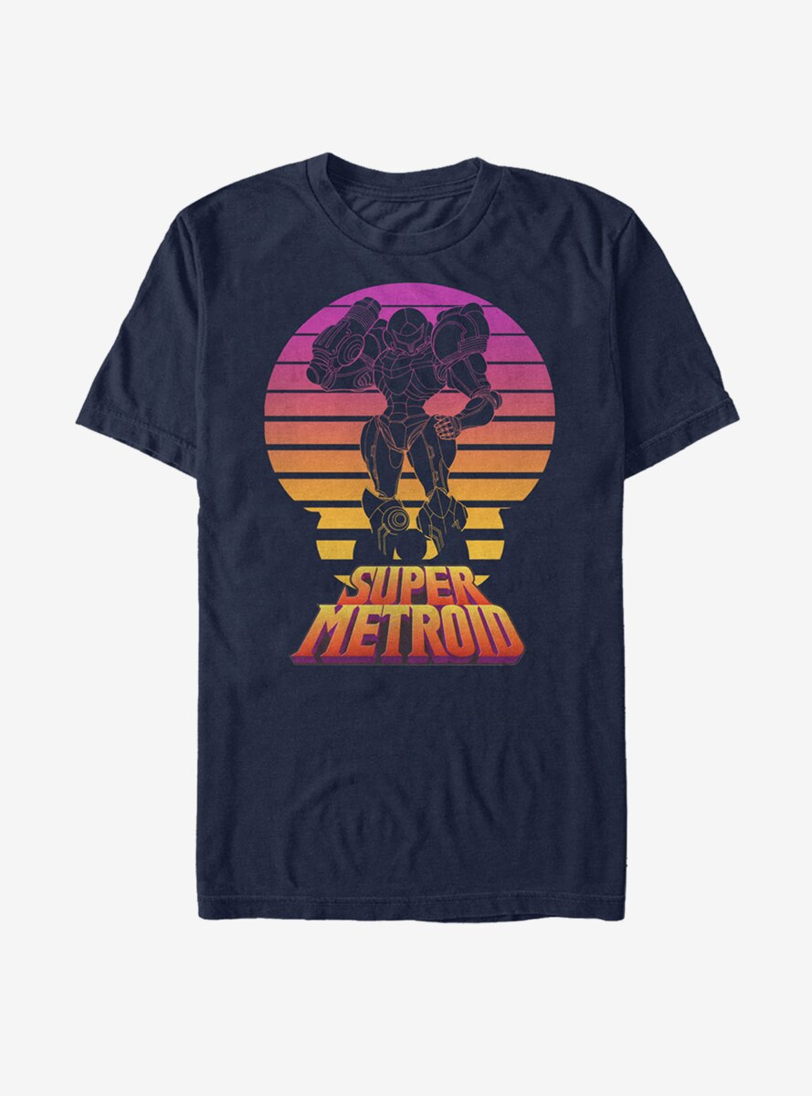 Nintendo Super Metroid Retro Fade T-Shirt