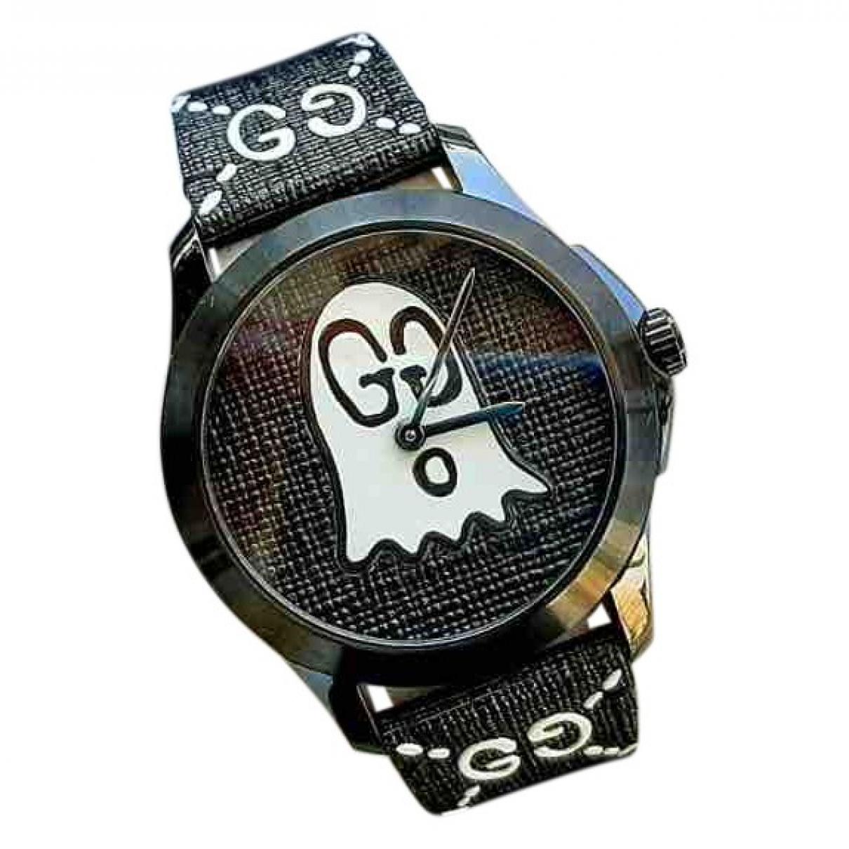 Gucci G-Timeless Black Steel watch for Men \N