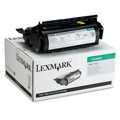 Lexmark 12A6860 Original Black Return Program Toner Cartridge