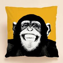Gorilla Print Cushion Cover Without Filler