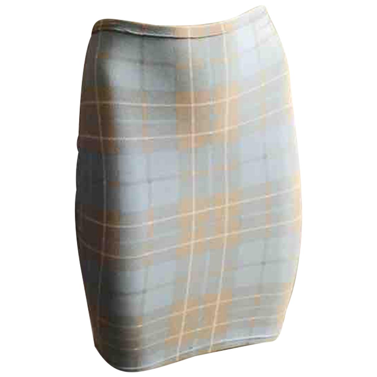 Autre Marque - Jupe   pour femme en coton - elasthane