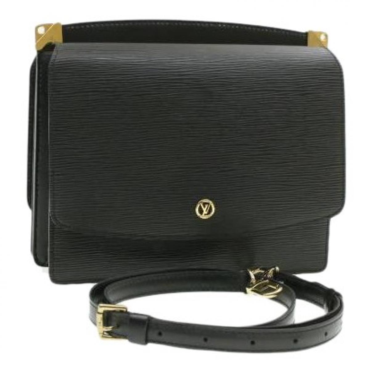 Louis Vuitton Grenelle Handtasche in  Schwarz Leder