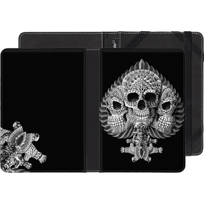 PocketBook Touch 622 eBook Reader Huelle - Skull Spade von BIOWORKZ