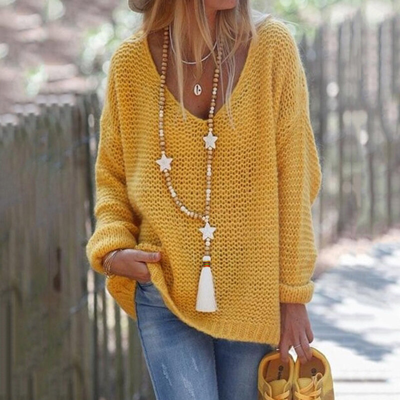 Bohemian Long Beaded Necklace Five-Pointed Star Pendant Tassel Necklace Sweater Chain