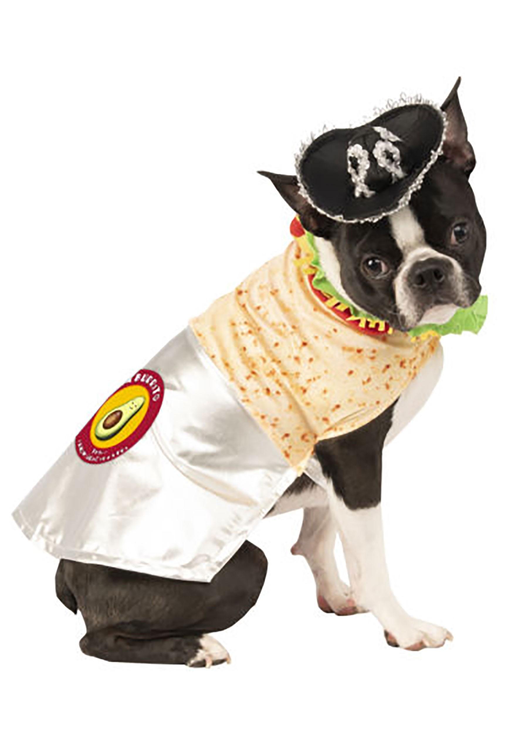 Dog Delicious Burrito Costume