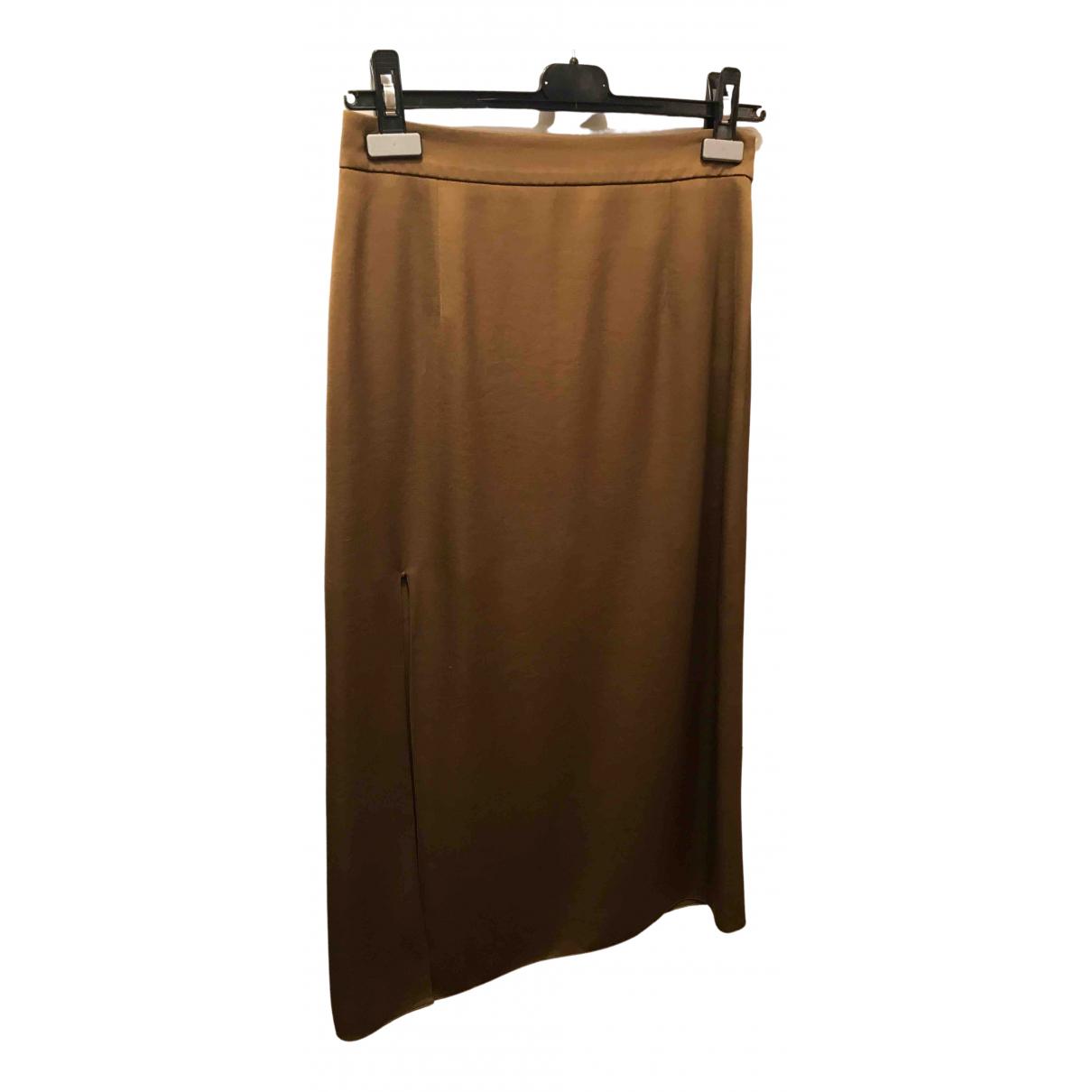 Lanvin \N Green Silk skirt for Women 36 FR