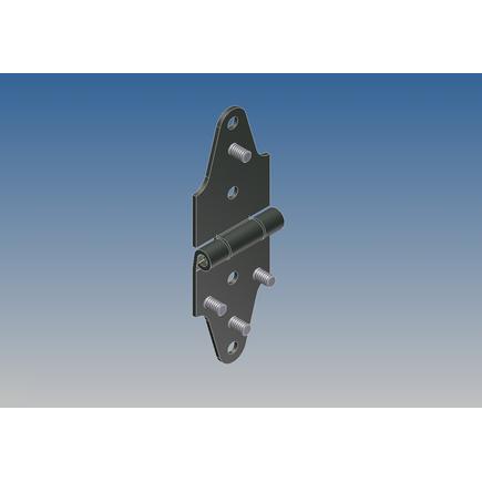 Whiting Door Manufacturing 8070 - Roller Hinge, Cargoguard