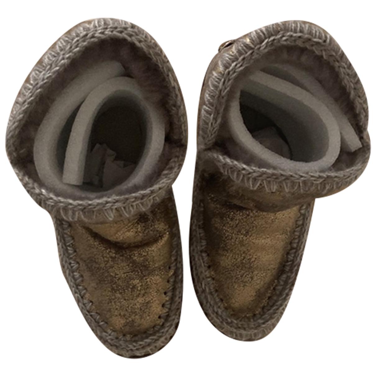 Botas de Con lentejuelas Mou