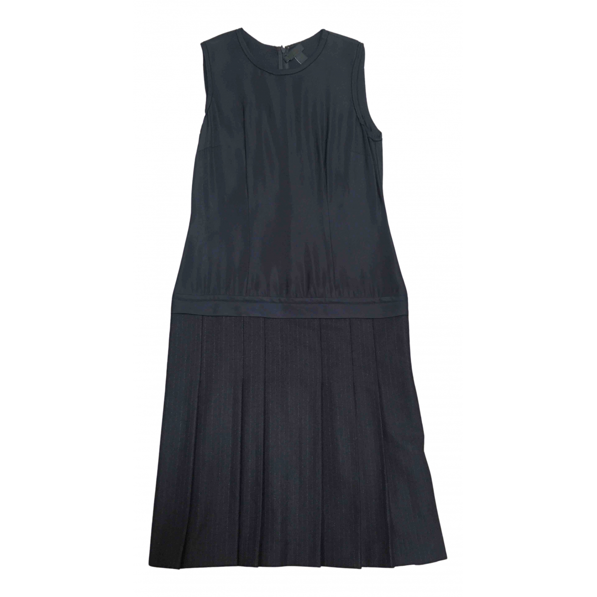 Dkny \N Kleid in  Marine Wolle