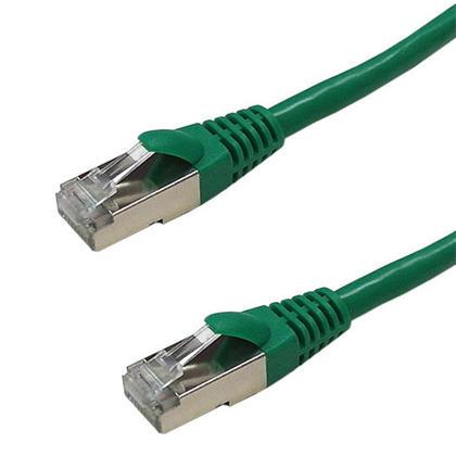 Câble de raccordement Ethernet Cat6a SSTP 26AWG 10 Go - vert - 25pi