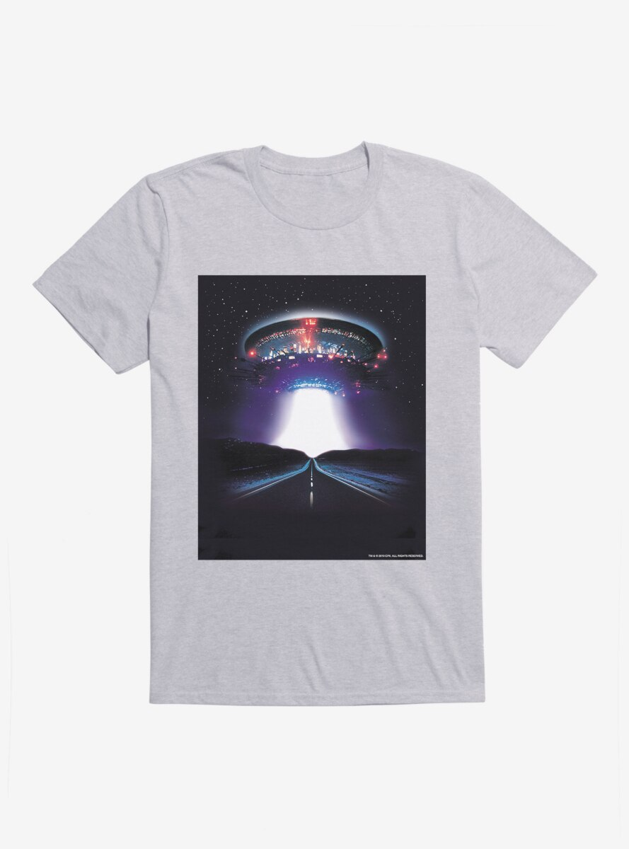 Close Encounters Of The Third Kind Mother Ship Light Beam T-Shirt