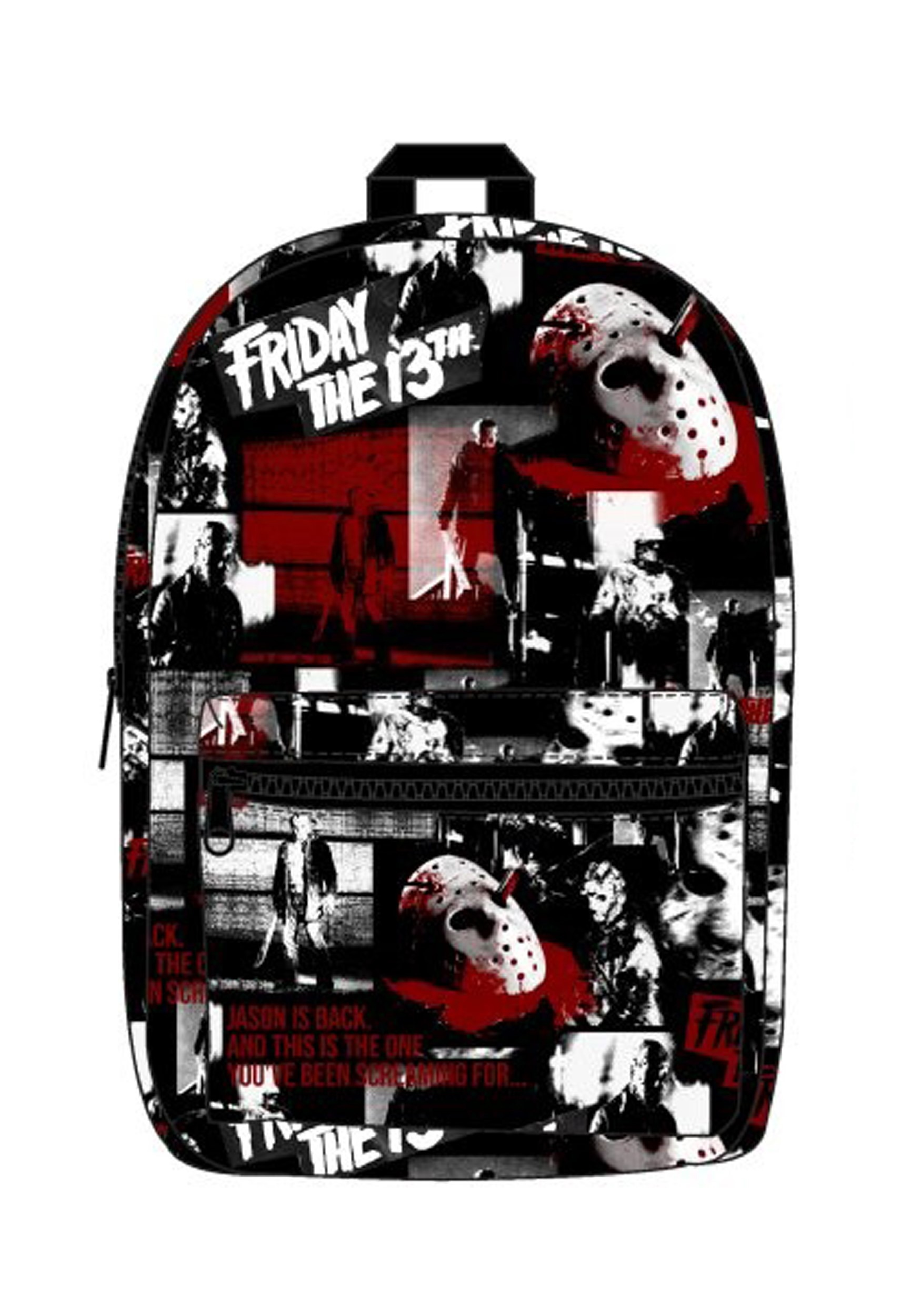 Friday the 13th Sublimated AOP Backpack