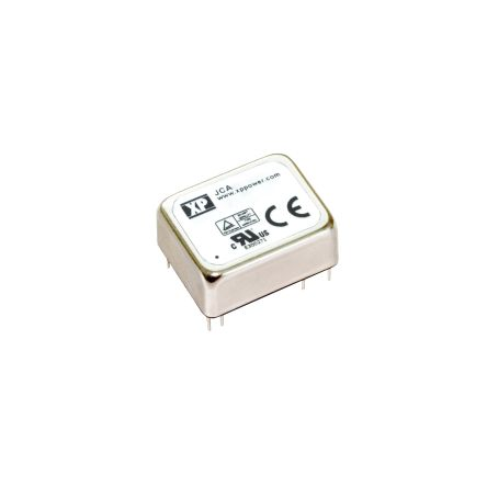 XP Power JCA 10W Isolated DC-DC Converter Through Hole, Voltage in 36 → 75 V dc, Voltage out 15V dc