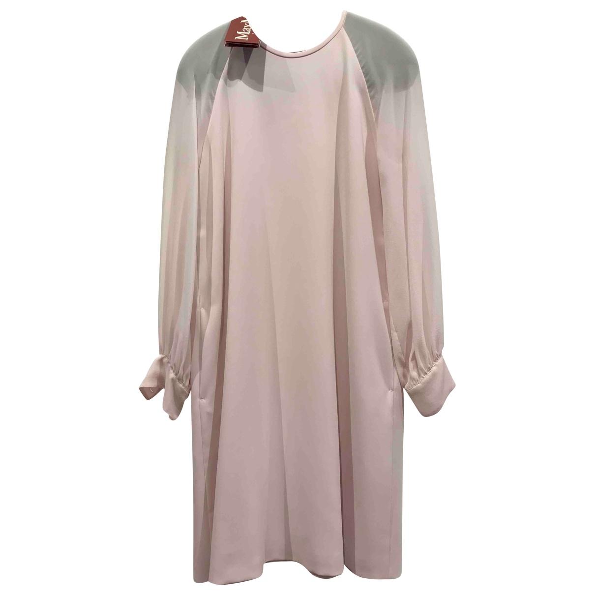 Max Mara Studio \N Kleid in  Rosa Polyester