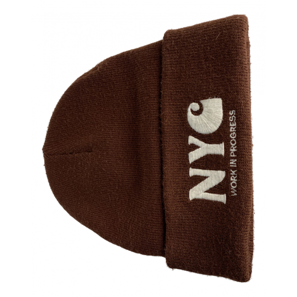 Carhartt Wip N Burgundy Wool hat & pull on hat for Men M International