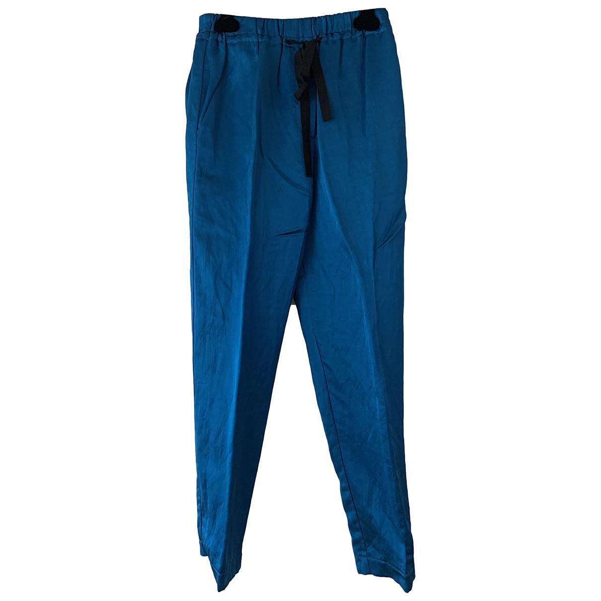 Forte_forte \N Blue Trousers for Women 1 0-5