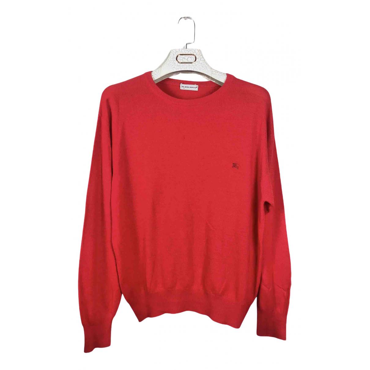 Burberry N Red Wool Knitwear & Sweatshirts for Men S International