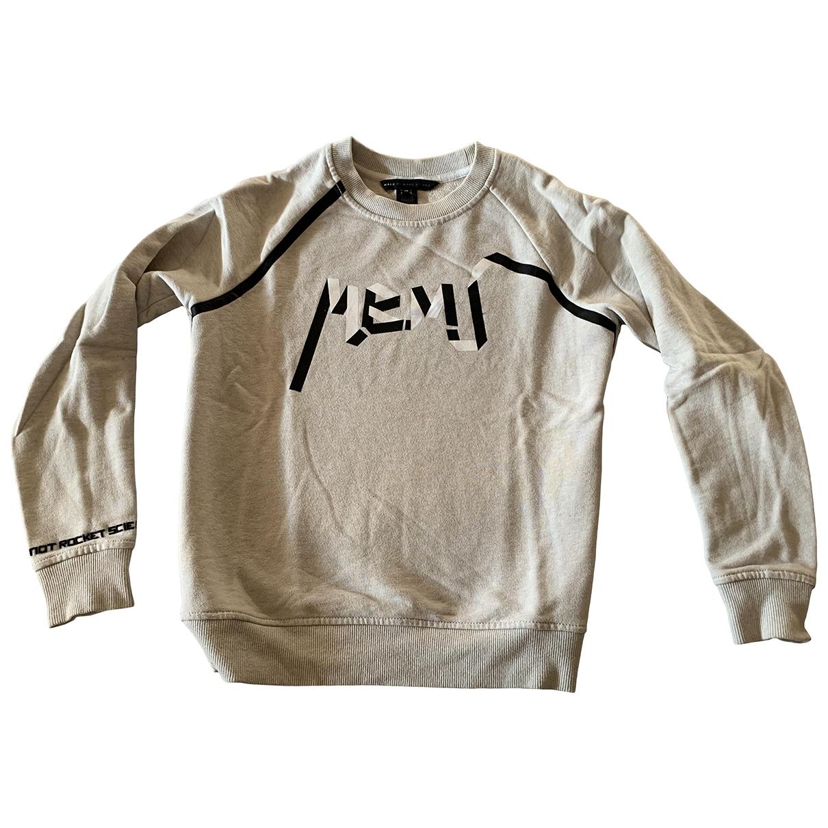 Marc By Marc Jacobs - Pull   pour femme en coton - gris