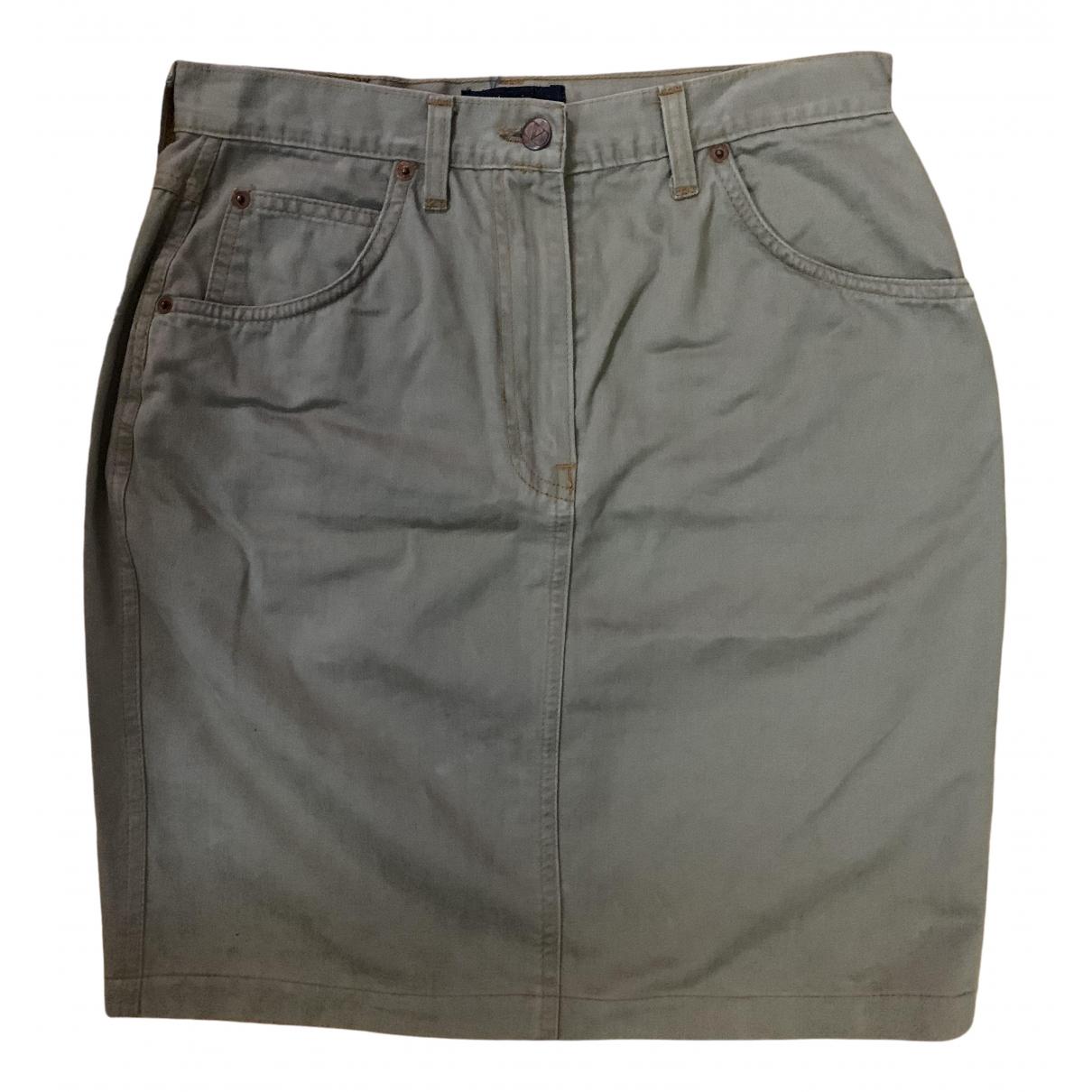 Valentino Garavani \N Rocke in  Beige Denim - Jeans