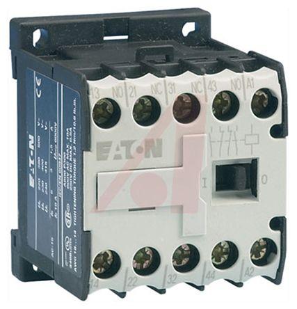 Eaton Overload Relay - 2NO/2NC, 6 A Contact Rating, 24 V dc, 4P