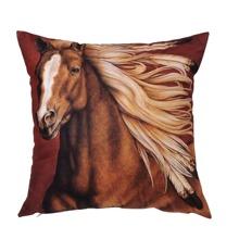 Horse Print Cushion Cover