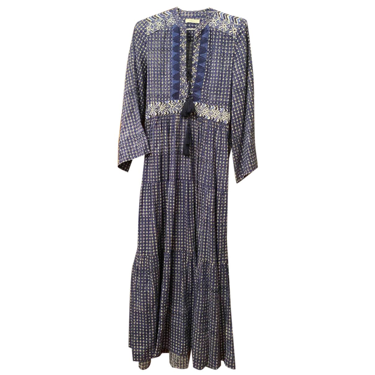 Dôen \N Blue Cotton dress for Women XS International