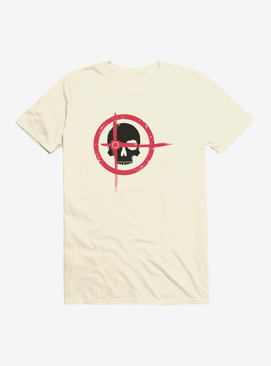 DC Comics Arrow Target Skull T-Shirt