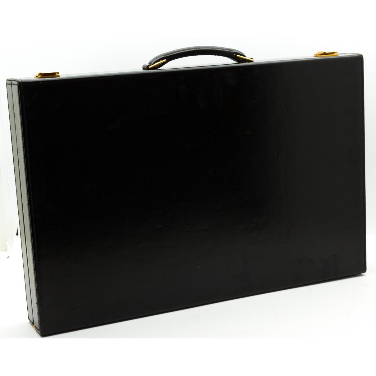 Hermes - Objets & Deco   pour lifestyle en cuir - noir