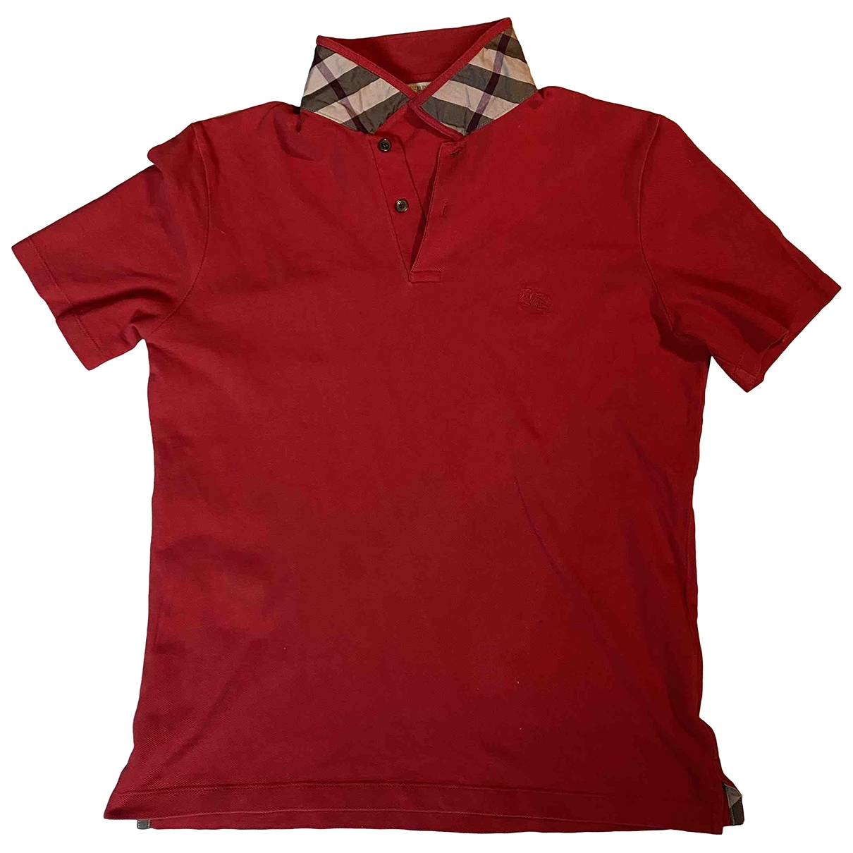 Burberry \N Poloshirts in  Rot Baumwolle