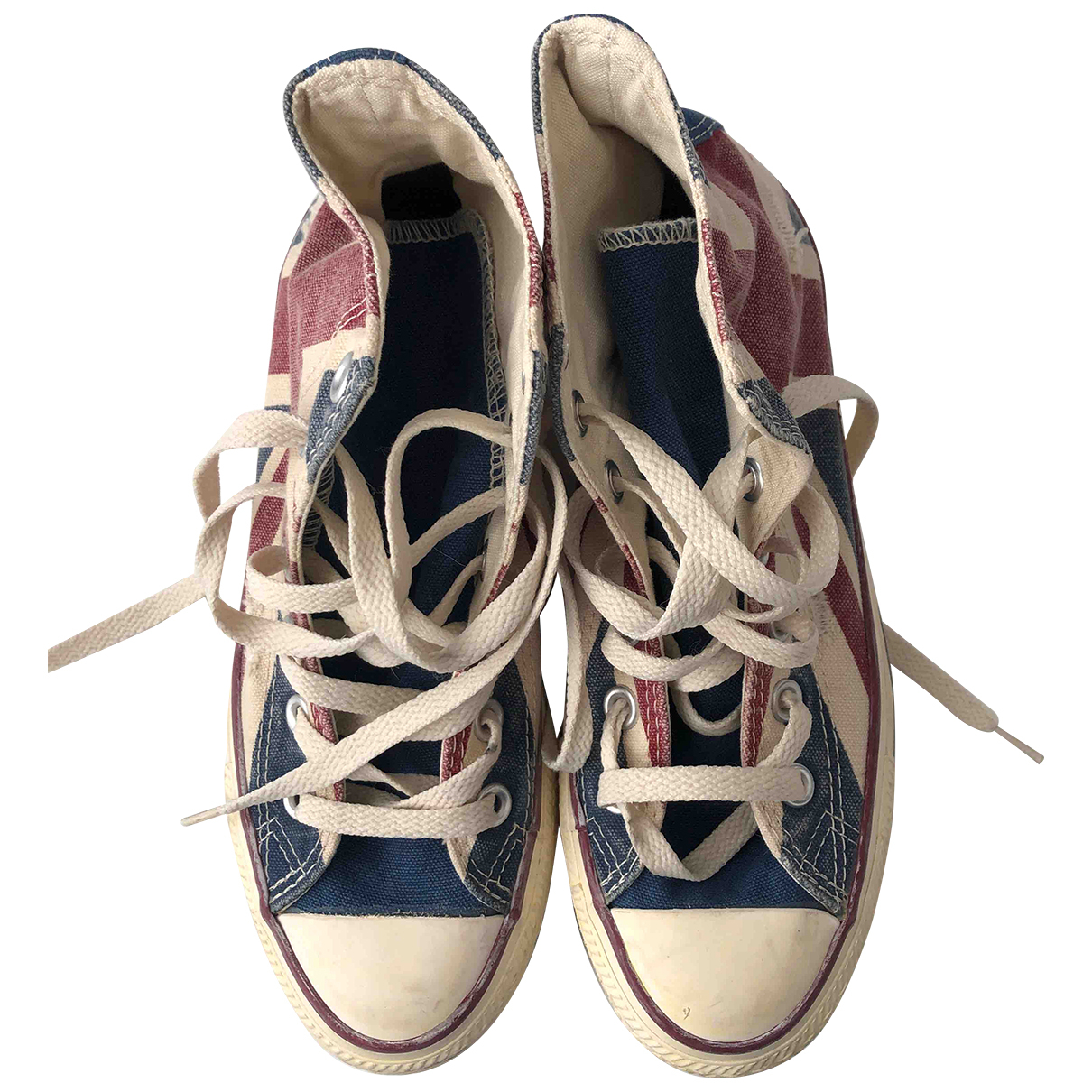 Converse \N Multicolour Cloth Trainers for Women 4 UK