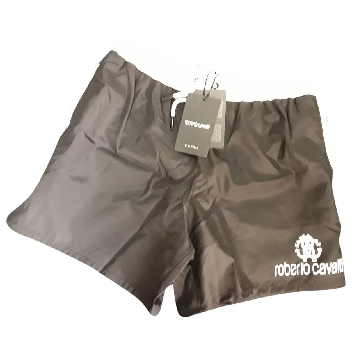 Roberto Cavalli \N Black Swimwear for Men 46 IT