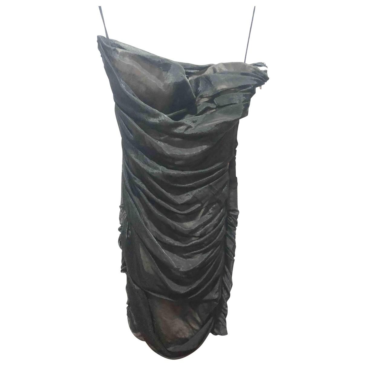 Alexander Wang - Robe   pour femme en soie - noir