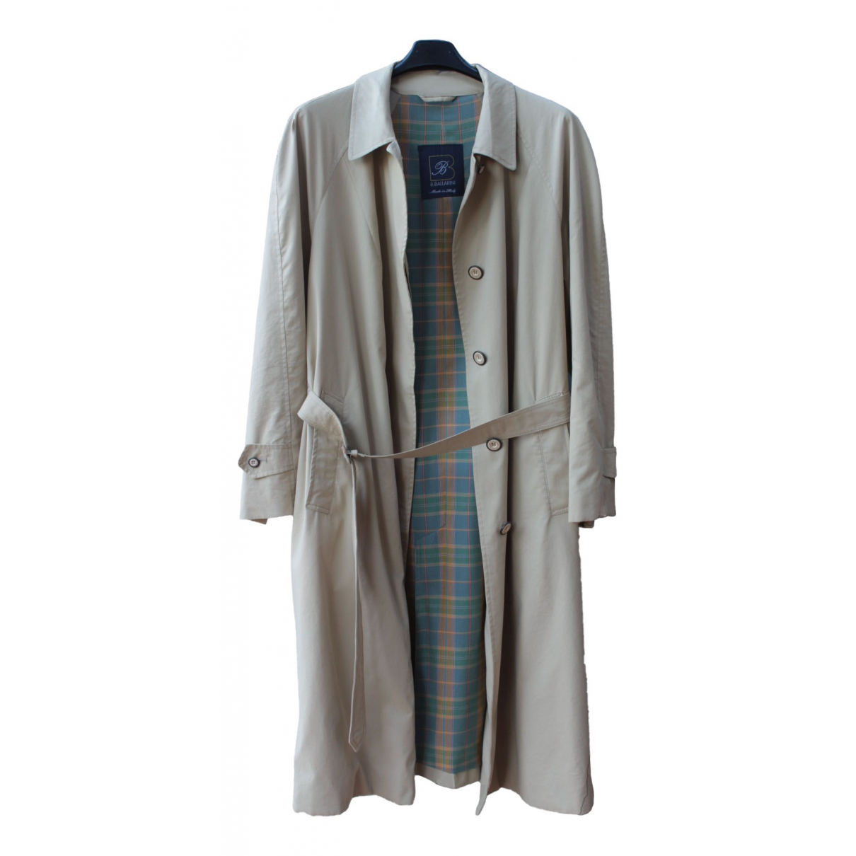 Non Signé / Unsigned \N Beige Cotton coat  for Men M International