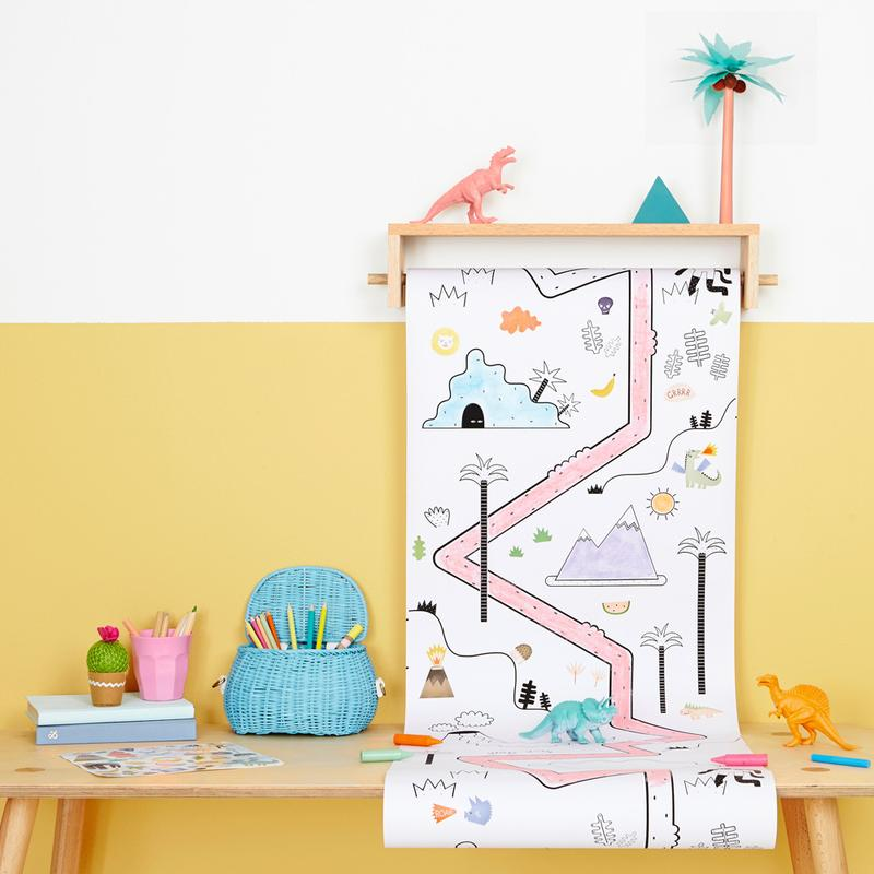 Olli Ella Pollie Coloring Shelf