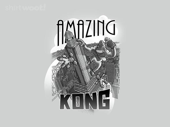 Amazing Kong T Shirt